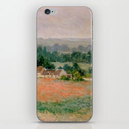 Haystack at Giverny iPhone Skin