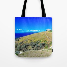 Basco Lighthouse Batanes Philippines Ultra HD Tote Bag