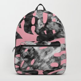 Composition tropical leaves XVII Backpack