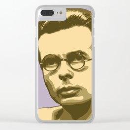 Aldous Huxley Clear iPhone Case