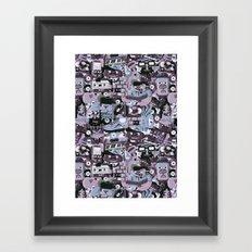 Wavvs Framed Art Print