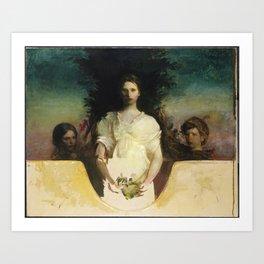 Abbott Handerson Thayer - My Children (1910) Art Print