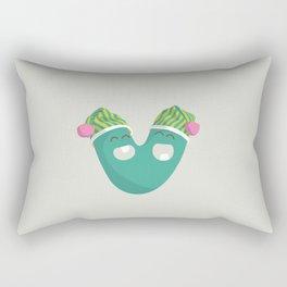 letter V Rectangular Pillow