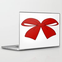 bow Laptop & iPad Skins featuring bow by  MuDi