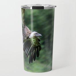 Vulture in Flight Travel Mug