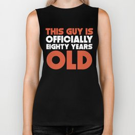 This Guy Is Officially Eighty Years Old Biker Tank