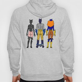 Superhero Butts Love 7 - Cat Bats Hoody