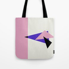 Misplaced Triangles Pastel // www.pencilmeinstationery.com Tote Bag