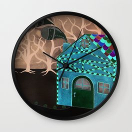 Hansel & Gretel Adrift Wall Clock