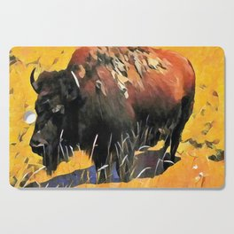 Muddy Buffalo Cutting Board