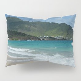 Clouds, Mountains and Ocean Pillow Sham