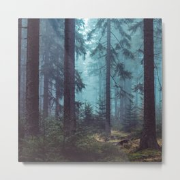 In the Pines (Vertical) Metal Print