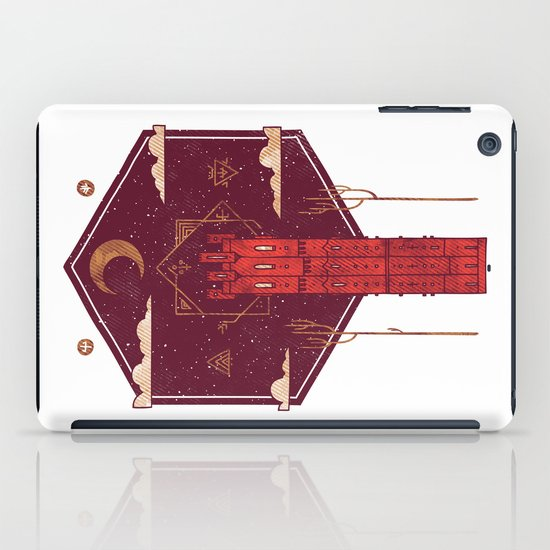 The Crimson Tower iPad Case