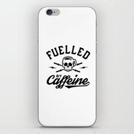 Fuelled By Caffeine v2 iPhone Skin