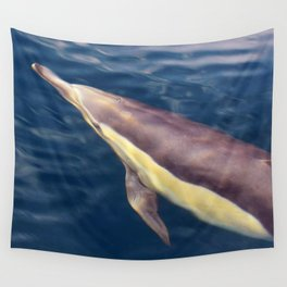 Rippling Dolphin Wall Tapestry
