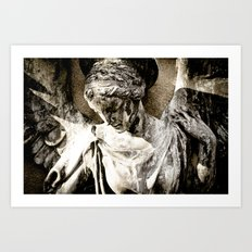 Angel Art Art Print