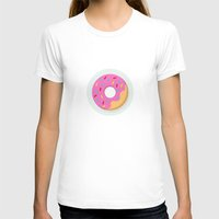 donut T-shirts featuring Donut by Marko Stupic