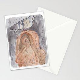 Portland Pigeon - Kvinneakt Stationery Cards