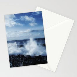 Crashing Ocean with spray Stationery Cards