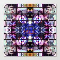 beth hoeckel Canvas Prints featuring BETH DITTO by Riot Clothing