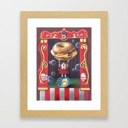 B as... Framed Art Print