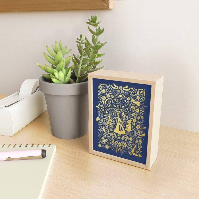 Alice in wonderland Framed Mini Art Print