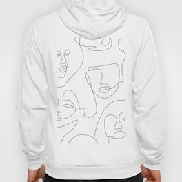 Crowd Portrait Hoody