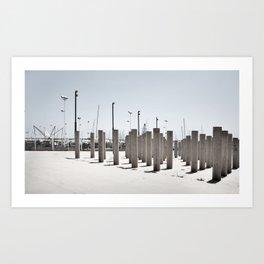 horizontal #4 Art Print
