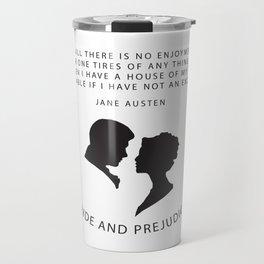 Pride and Prejudice A Travel Mug