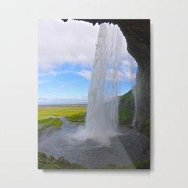 Seljalandsfoss, Iceland Metal Print