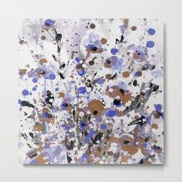 Floral Expression 2k by Kathy Morton Stanion Metal Print