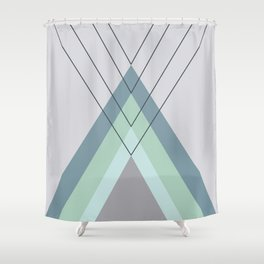 Iglu Mint Shower Curtain