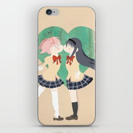 Papercraft Lovers iPhone Skin