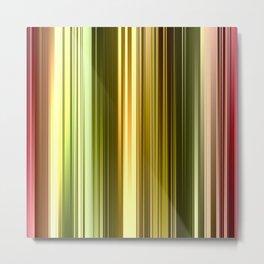 Vertical Color Metal Print