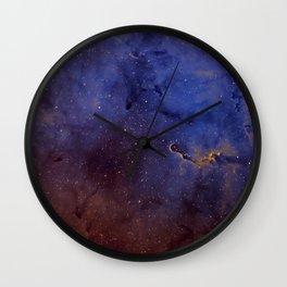 Elephant's Trunk Nebula Wall Clock