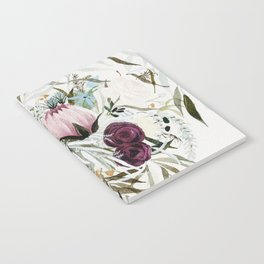 Rustic and Free Bouquet Notebook