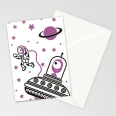space Purple! Stationery Cards