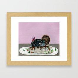 Turkey Day Framed Art Print