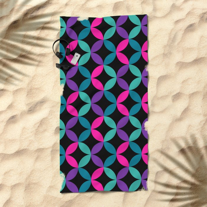 Color Switch Beach Towel