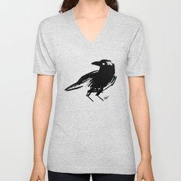 Crow Unisex V-Neck