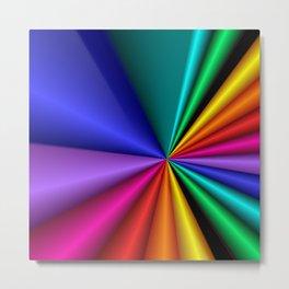 color explosion -2- Metal Print
