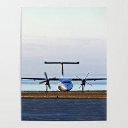 Plane Landing Poster
