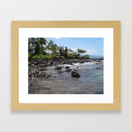 Island Getaway Framed Art Print
