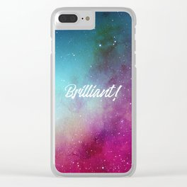 Brilliant Clear iPhone Case