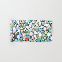 PEBBLES ON THE BEACH Hand & Bath Towel