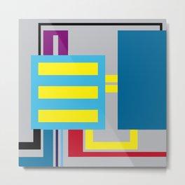 P.H. - Machine Metal Print
