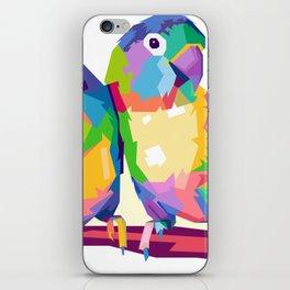 Love Bird POP ART iPhone Skin