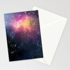 Stars and Nebulas Stationery Cards