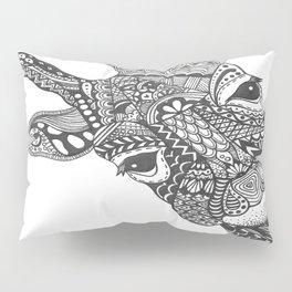 Zentangle Giraffe Pillow Sham