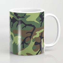 Camouflage - camo green Coffee Mug